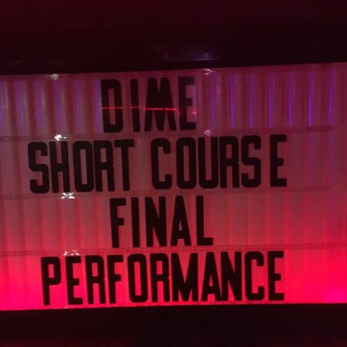 Mahogany the arts educator leads 6 week Hip Hop songwriting and performing short course at DIME