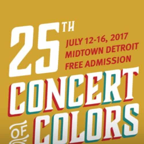 Mahogany Jones takes the stage at the renown Detroit Symphony Orchestra Hall for the Concert of Colors Don Was Review