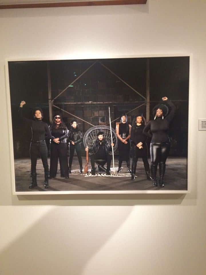Mahogany Jones one of the artists featured in Jenny Rischer's Dcyphered photo exhibition at the DIA – Opening Night