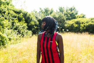 Photo shoot fun with visual artist and photographer Nichole Washington